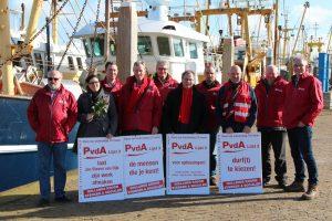campagne team in Den Oever