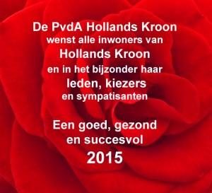 goed 2015 pvda