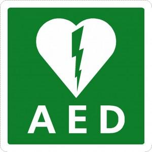 l_aed pictogram symbool sticker