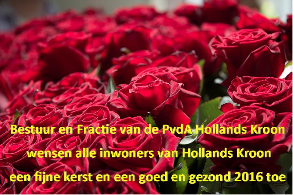 Kaart PvdA 2016